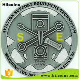 Fabricación de monedas viejas indias ninguna venta india de las monedas de MOQ vieja y monedas simbólicas de encargo baratas de encargo