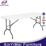Vente en gros White Rectangle Plastic Folding Table for Party