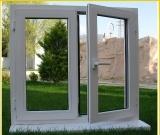 普及した様式の粉上塗を施してある白いアルミニウムWindows