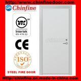 Porte coupe-feu en acier avec le certificat des BS (CF-F001)