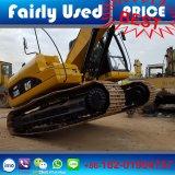 Excavatrice du tracteur à chenilles 320d du Japon/bêcheur utilisés initiaux, excavatrice du chat 320d