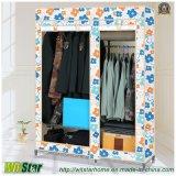 Wardrobe quente de pano da tela de Oxford da venda (WS16-0083, para a mobília do quarto)