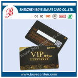 Carte en plastique de PVC VIP avec la piste magnétique