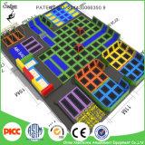 Juegos de interior grandes del parque del trampolín del fabricante principal del trampolín de China