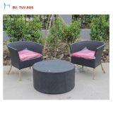 C-Напольный стул кофеего ротанга сада с таблицей