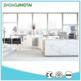 Grande Slab Stone Form e White Color Calacatta Gold Quartz Slab