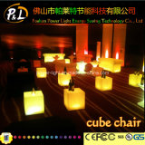 Inclusione Material Party Decor LED Open Cube con Cushion