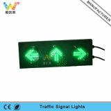 Kundenspezifisches 125mm Signal-Licht-Verkehrs-Pfeil-Licht 3 Geräten-LED
