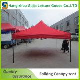 Напольная партия хлопает вверх складывая шатер сени пляжа при напечатанная таможня
