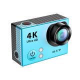 4k WiFi резвится камера H2r действия с 24fps