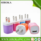 Niedriger Price Fashionable Portable Travel Charger USB Wall Charger AC5V 1000mA Output für iPad