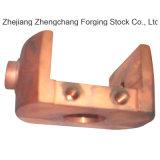 Peças de montagem de cobre por forjamento