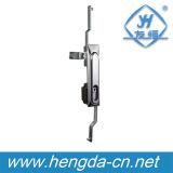 Elektrische Schrank-Taste-Tür-Rod-Steuerverriegelung des Panel-Yh9523