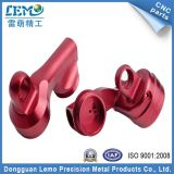 精密Red Anodized Aluminum CNC PartsかMachining Parts