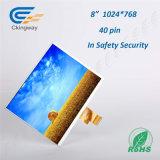 8 인치 해결책 1024년 (RGB) X768 LCD 스크린 모듈