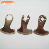 Boot Shape Knife Blade Power Tool Peças de peças de metal Diamond Tool Oscillating Saw Blade