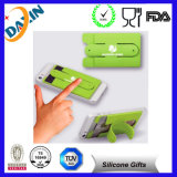 Playing를 위한 최고 Sale Popular Style Silicone Cell Phone Credit Card Holder