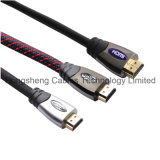 Aplicación multimedia y Oro Color del conectador de audio y vídeo HDMI Cable HDMI Cable de China Fabricación
