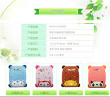 Gel lindo Mouse Pad con Different Designs