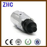 Enchufe y socket de aluminio de tipo europeo del acoplado de 12V 24V 7 poste mini