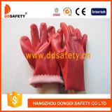 Ddsafety 2017 Rot Belüftung-glatter fertiger Baumwollzwischenlage Woking Handschuh