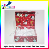 2016 подгонянная коробка верхней части Flip бумажная для рождества