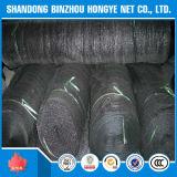 Tipo rede da fita da alta qualidade da fonte da fábrica de China da máscara de Sun do preto do HDPE