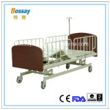 Homecare 나무로 되는 침대 전기 요양소 침대
