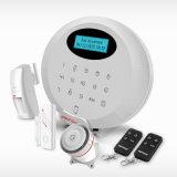 Lobo-Guardar la alarma casera elegante sin hilos segura de la seguridad del ladrón de la seguridad casera del G/M SMS con el sistema del sensor de movimiento