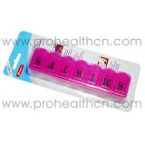 Коробка пилюльки 7 отсеков пластичная (PH1211)