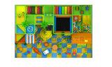 Freches Schloss-Süßigkeit-Thema-heißes verkaufenkind-Innenspielplatz-Gerät
