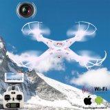 0.3MP 사진기를 가진 1498805c 6 축선 자이로컴퍼스 2.4G 4CH 실시간 심상 반환 RC Fpv Quadcopter 무인비행기 WiFi는 반환을 1 누른다