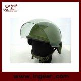 옥외 명확한 챙을%s 가진 전술상 Airsoft Paintball M88 Pasgt 튼튼한 복사 헬멧