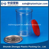 Plastic Capの650ml Pet Plastic Food Container