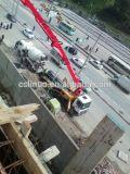 A8 Concrete Placing Boom Pump con Concrete Mixer