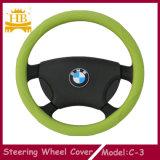 Coperchio su ordinazione del volante del silicone per l'automobile