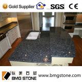 Blauer Perlen-Granit-kundenspezifische Küche-Gegenoberseite-Badezimmer-Eitelkeits-Oberseiten
