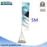 Напольный Flagpole алюминия 5m/4m с по-разному основанием