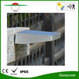 La via esterna IP65 di 4W 600lm 48 LED di energia solare di movimento del sensore dell'indicatore luminoso del giardino della lampada calda di obbligazione impermeabilizza l'indicatore luminoso della parete