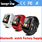 "1,44 ""Inch TFT LCD 128 * 128 Display Pedometer Bluetooth U8 Smart Watch para cuidados de saúde"