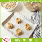 406X610mm grado alimenticio de silicona de prueba de grasa de papel recubierto para hornear