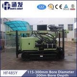 Hf485y Gleisketten-Typ Wasser-Vertiefungs-Ölplattform, Bohrloch-Ölplattform, DTH Ölplattform