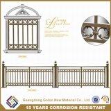 簡単な錬鉄の電流を通された鋼鉄に機密保護のパネルの囲うこと