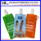 Bouteille d'eau pliable faite sur commande bon marché populaire promotionnelle (EP-B7154)