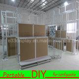알루미늄에 의하여 주문을 받아서 만들어지는 모듈 DIY Reusable&Portable 전람 부스