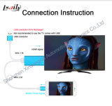 Car DVD Home 텔레비젼 Big Monitor Through HDMI에 힘 Charge Portable Mirror Link Connecting Your Smart Phone
