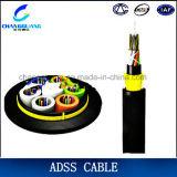 중국 제조자 ADSS 단일 모드 다중 코어 미터 당 공중 광학 섬유 케이블 가격
