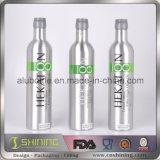 Botellas de vino de aluminio vacías