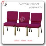 Großhandelsvinylgewebe-Standard bemisst Kirche-Stuhl (JC-59)