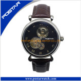 Alta qualità Automatic Watch 5ATM Water Resistant Genuine Leather Watch